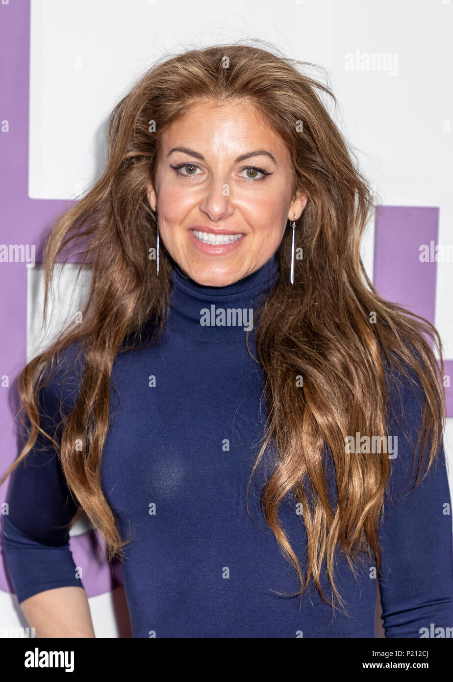 New York, NY, USA - June 12, 2018: Dylan Lauren attends the New York special screening of the Netflix film 'Set It Up' at AMC Loews Lincoln Square Credit: Sam Aronov/Alamy Live News - Stock Image