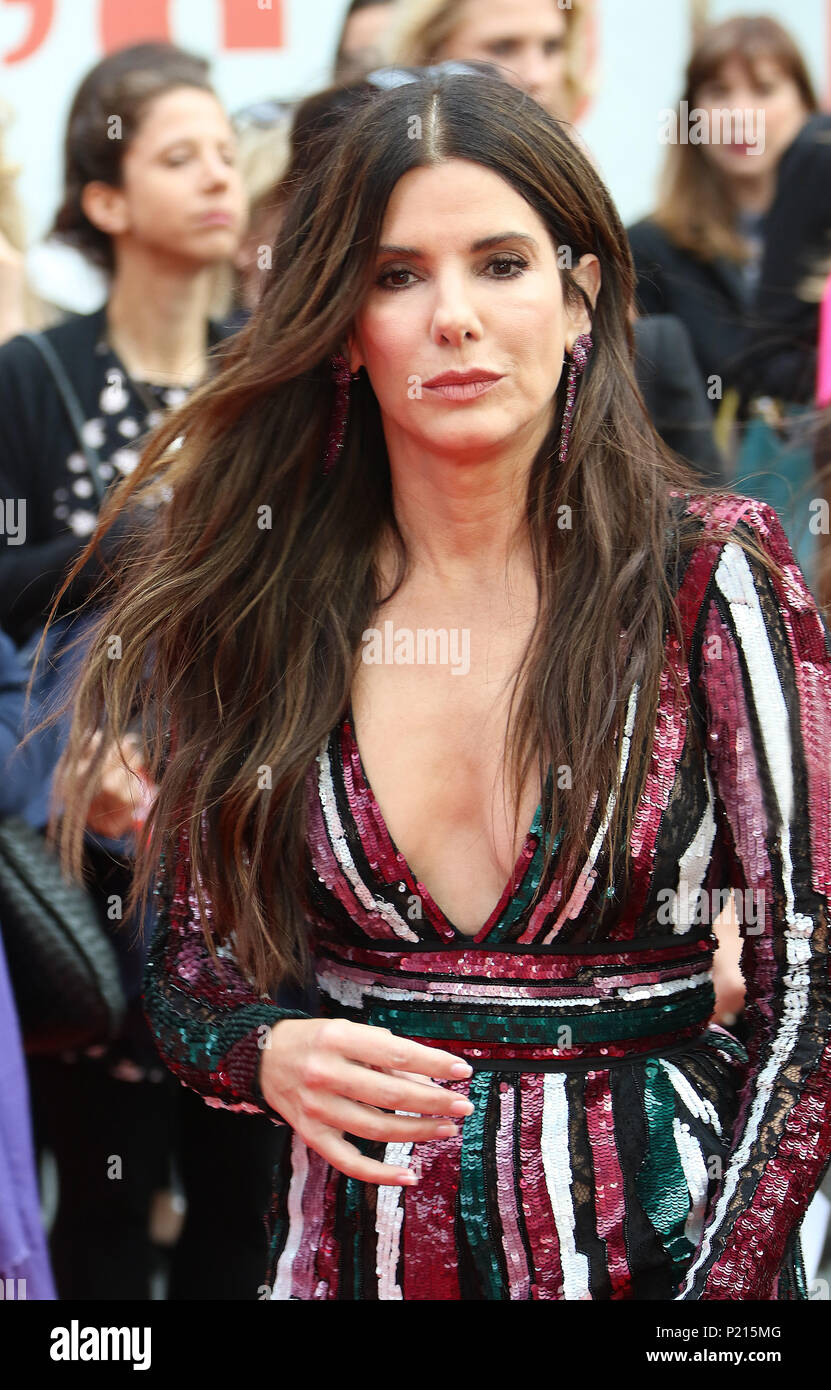 London, UK  13th June 2018  Sandra Bullock, Ocean s 8