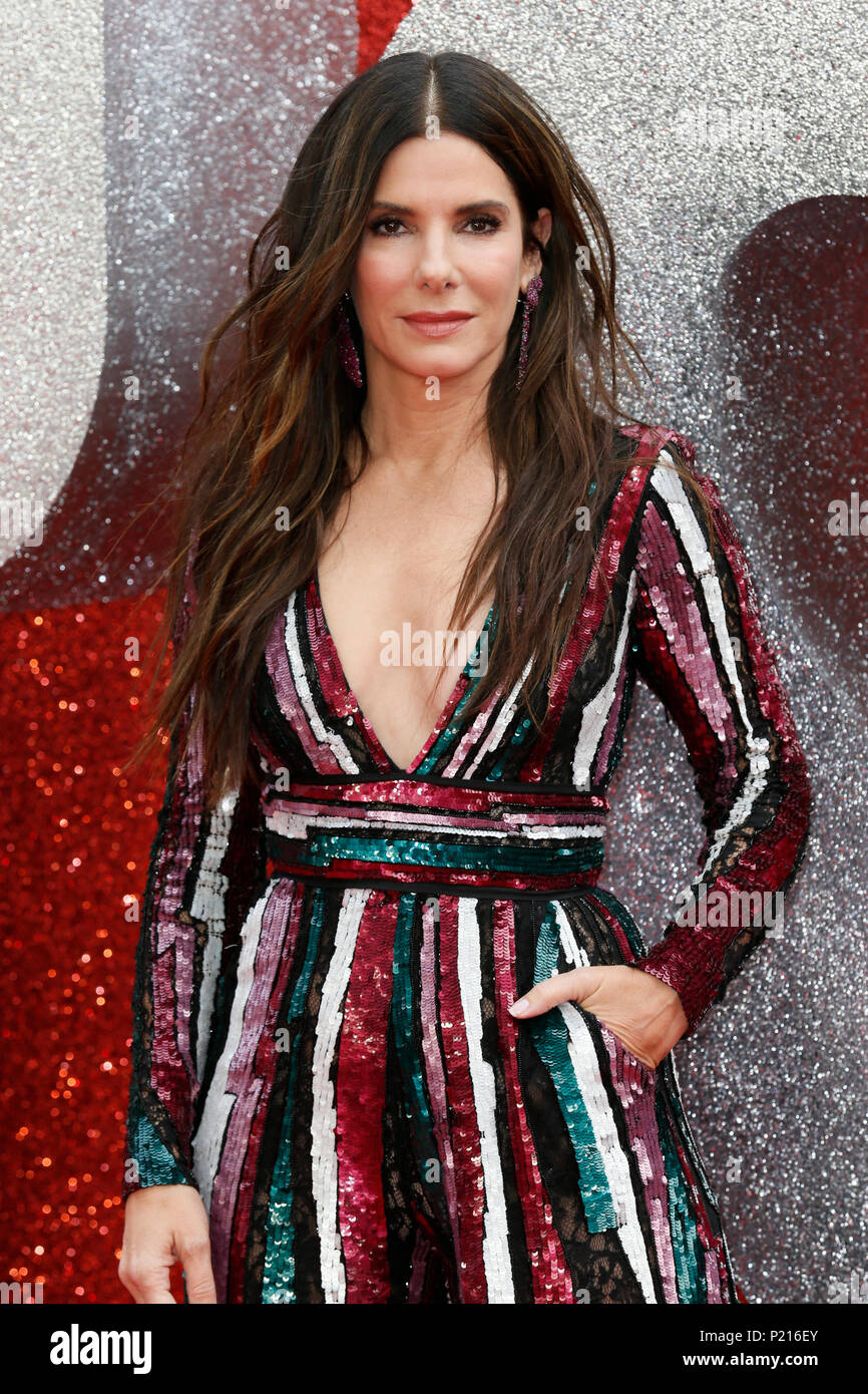 London, UK  13th June 2018  Sandra Bullock attends the