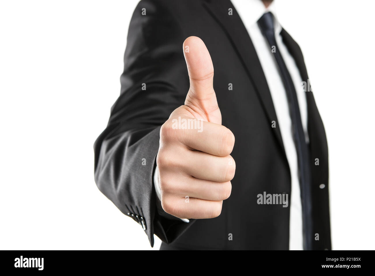 Thumbs up! - Stock Image