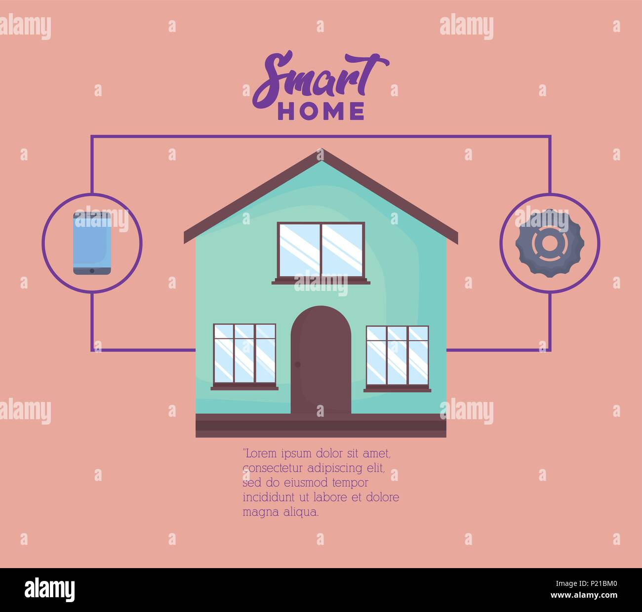 Wheel House Stock Vector Images - Alamy