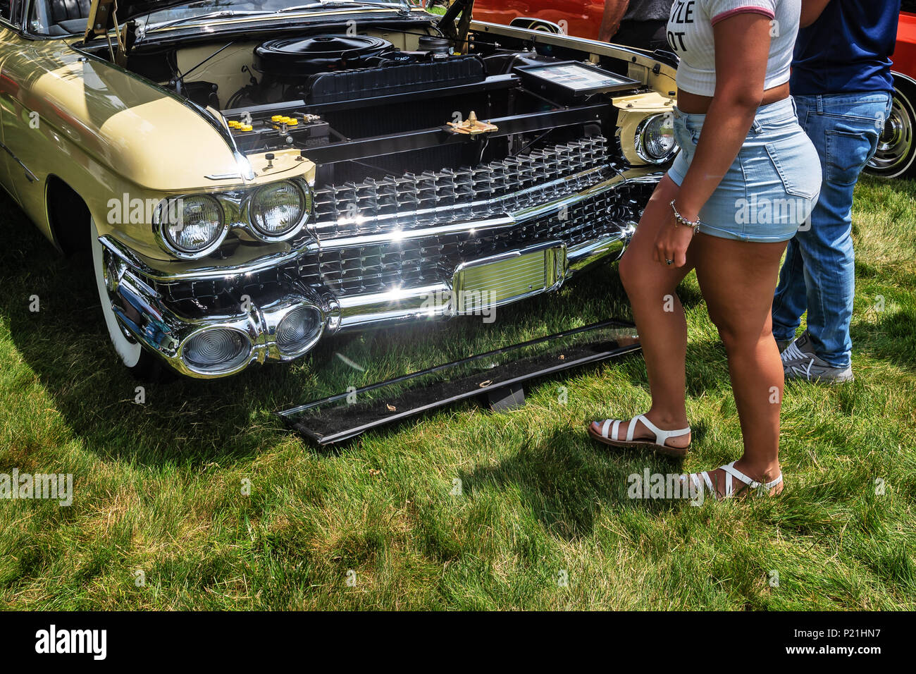 Antique Car Show Northeast Philadelphia PA USA Stock Photo - Car shows north east