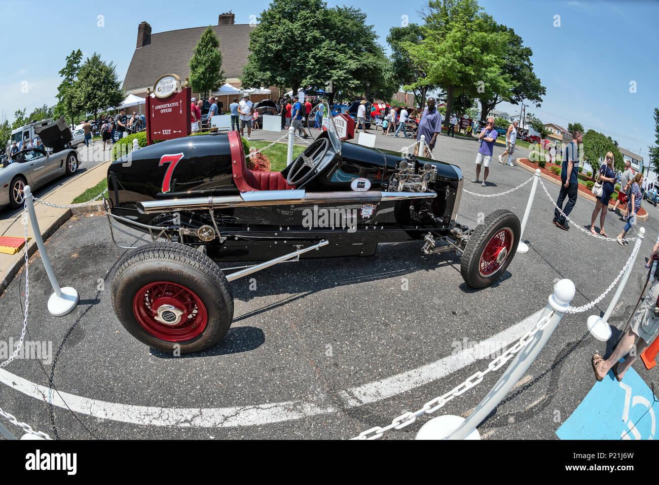 Racing Car Antique Car Show Northeast Philadelphia PA USA - Car shows north east