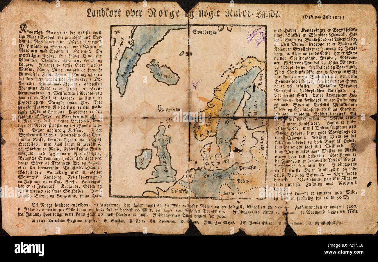 kart norden no Ut 171 Stock Photos & Ut 171 Stock Images   Alamy kart norden no