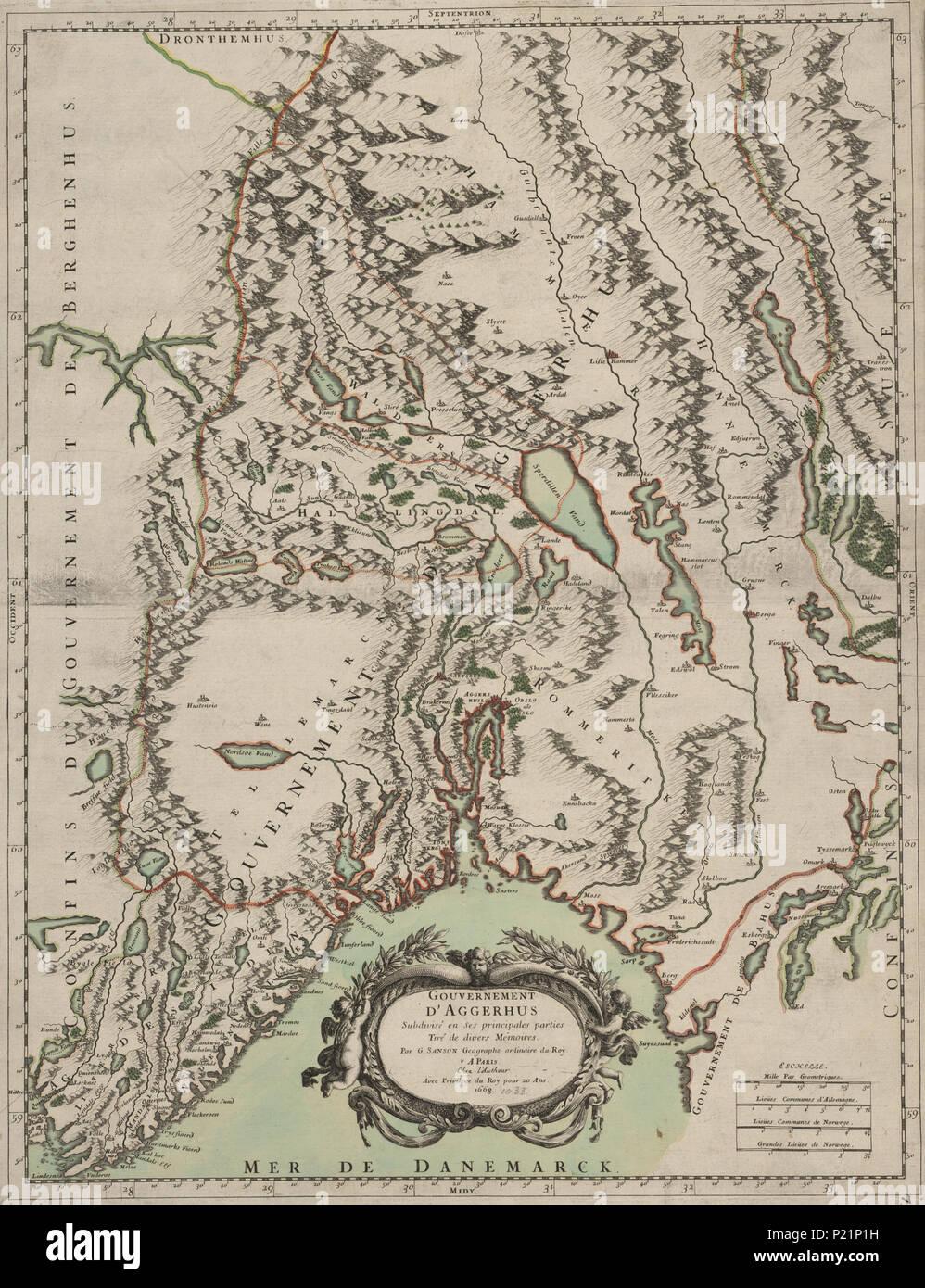 Norsk Bokmal Kart Fra Nasjonalbibliotekets Kartsamling Kartet Er