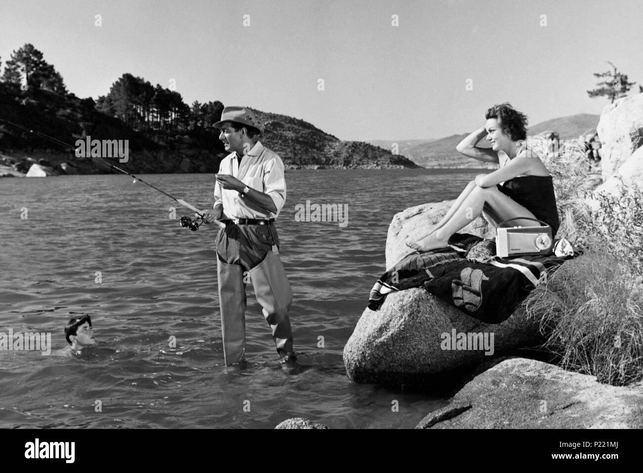 Original Film Title: MARIA, MATRICULA DE BILBAO.  English Title: MARIA, MATRICULA DE BILBAO.  Film Director: LADISLAO VAJDA.  Year: 1960. Stock Photo