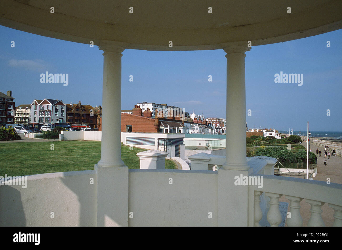 Bexhill seafront - Stock Image