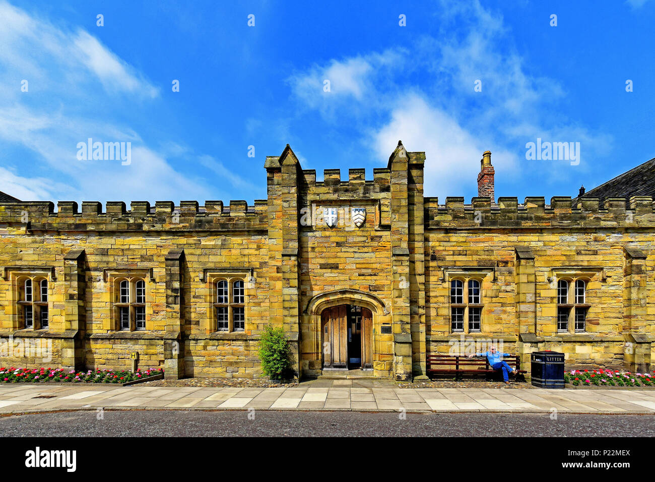 Durham Cathedral University Library Entrance Stock Photo 207813730