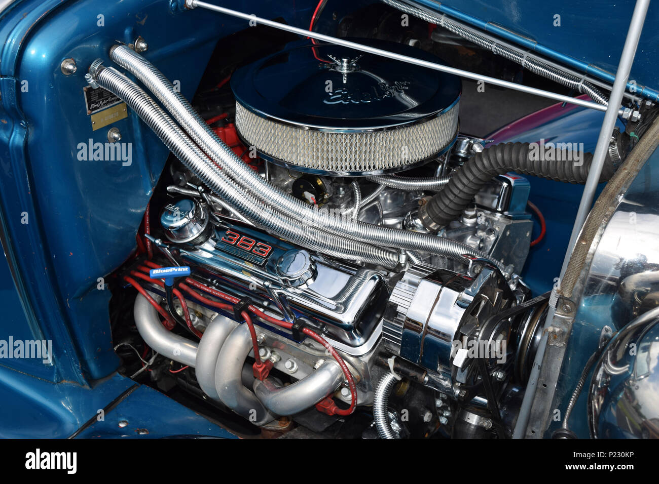 Stroker Stock Photos Images Alamy Engine Diagram 3 1 A 383 Chevrolet Hot Rod Image