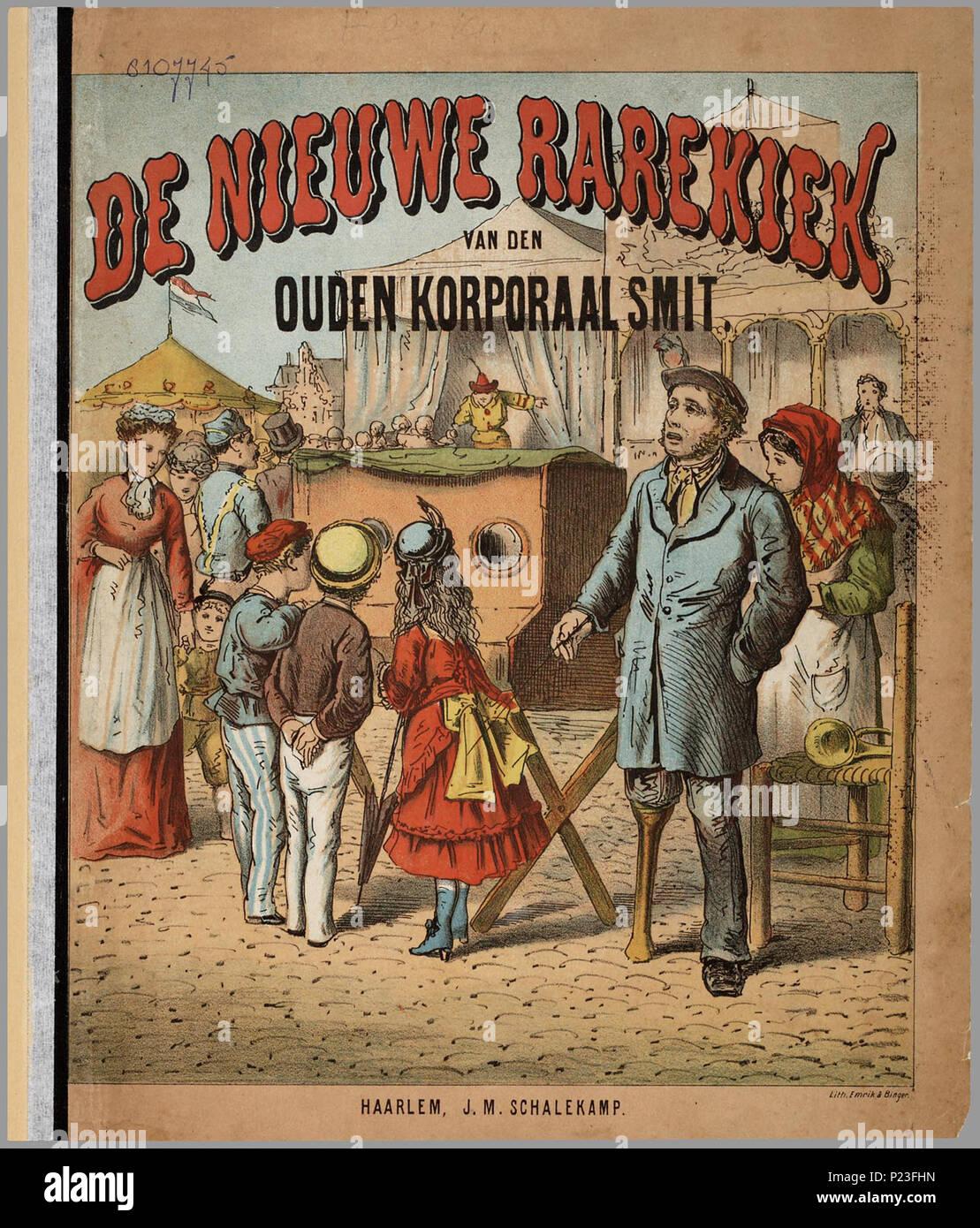 De Nieuwe Rarekiek Van Den Ouden Korporaal Smit Prentenboek Met