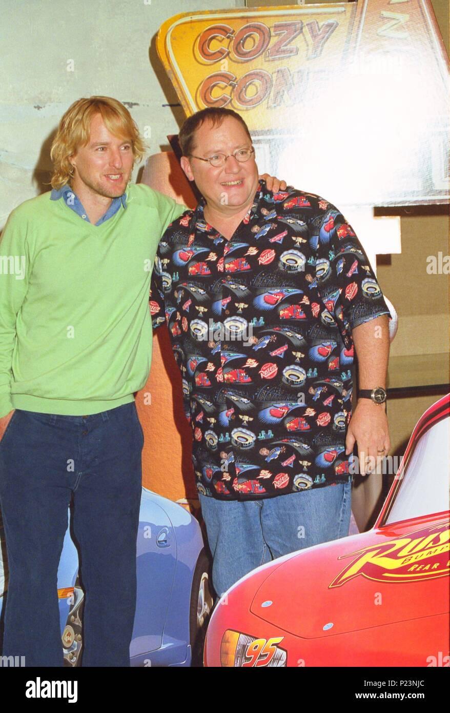 19 05 2006 Barcelona Spain Director John Lasseter And Actor
