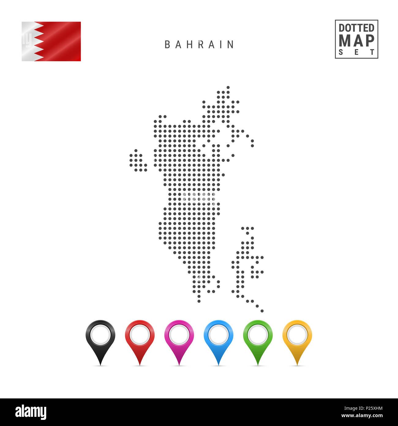 National Flag Of Bahrain Stock Photos National Flag Of Bahrain