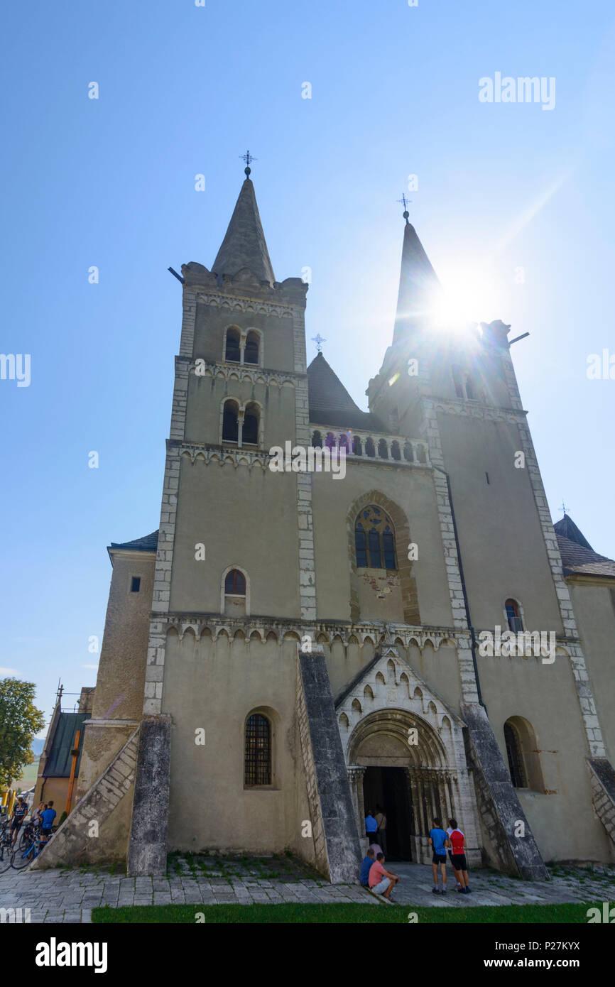 Spisske Podhradie (Kirchdrauf), church St. Martin's Cathedral of Spisska Kapitula Ecclesiastical Town, Slovakia - Stock Image