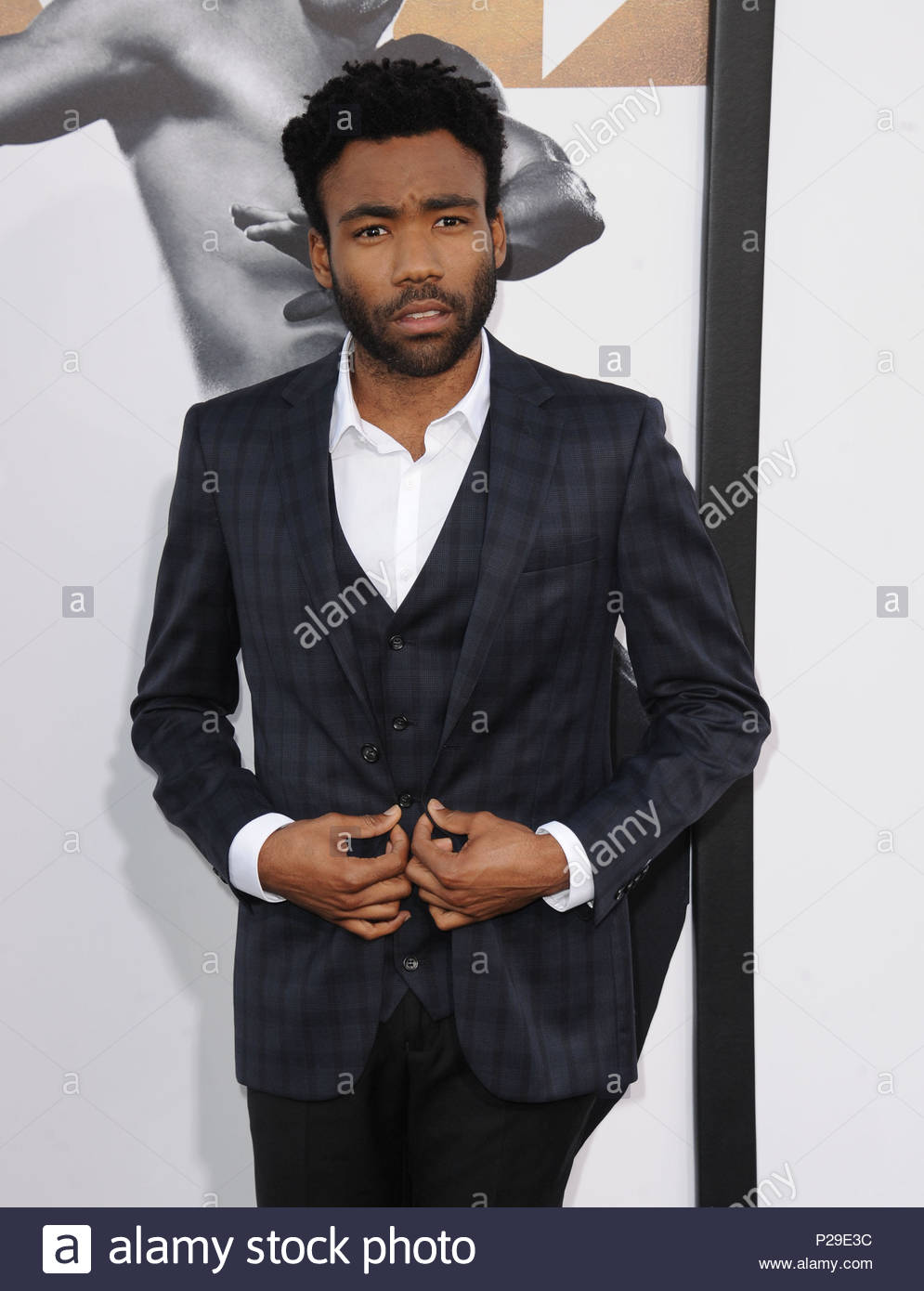 Donald Glover. ***MANDATORY BYLINE TO READ INFPhoto.com ONLY***<BR/> Adam Rodriquez attending the World Premiere of Warner Bros. Pictures 'Magic Mike XXL' at the TCL Chinese Theatre in Hollywood, California. - Stock Image