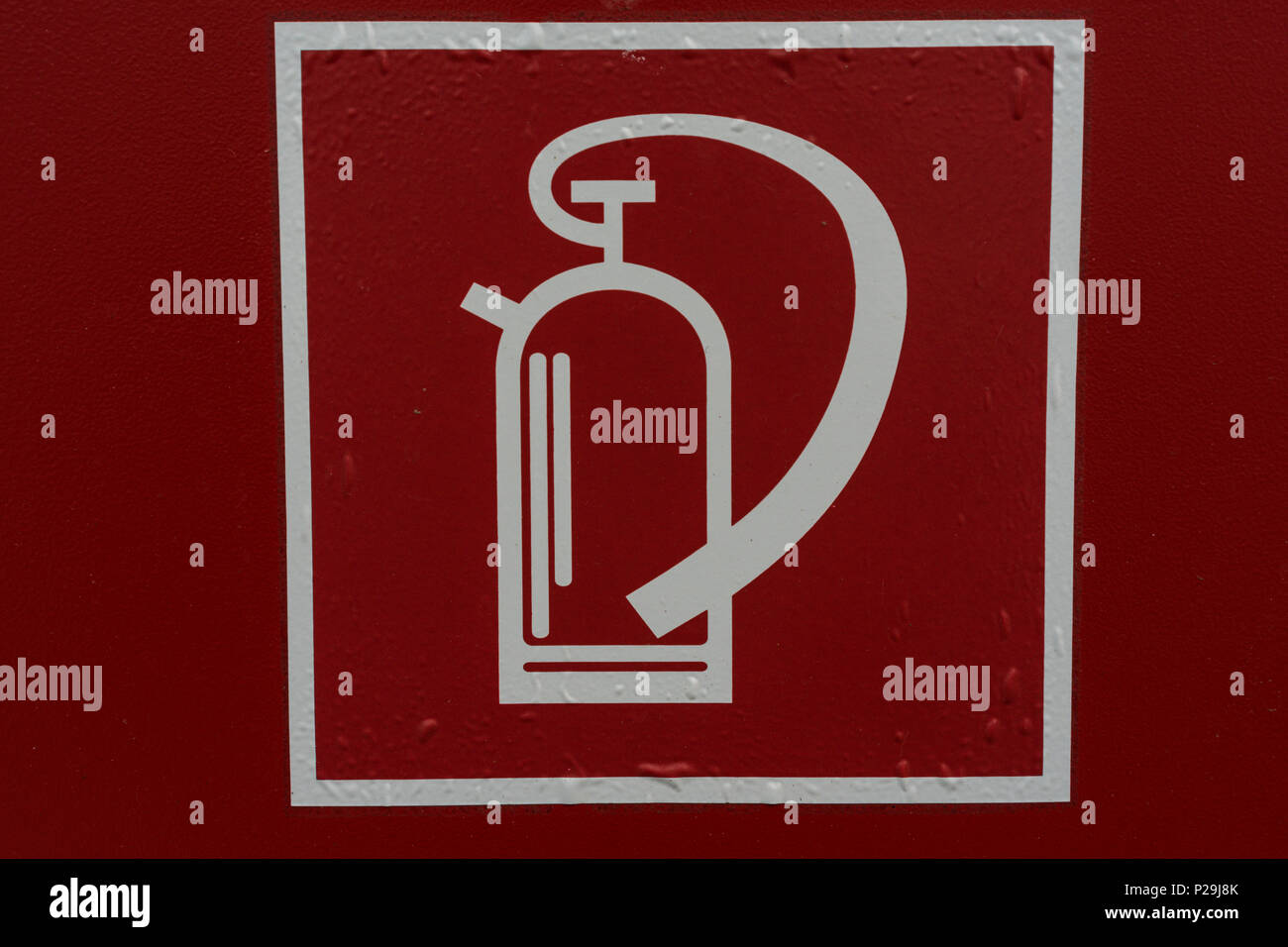 Fire Extinguisher Symbol Stock Photos Fire Extinguisher Symbol