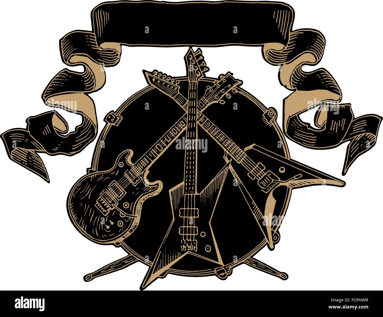 drummer band stock vector images alamy