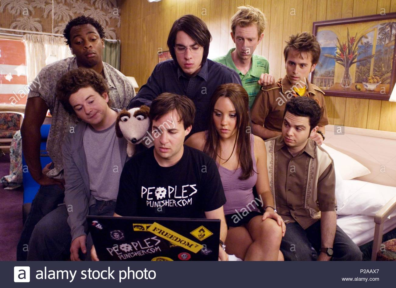Original Film Title: SYDNEY WHITE.  English Title: SYDNEY WHITE.  Film Director: JOE NUSSBAUM.  Year: 2007.  Stars: AMANDA BYNES; JEFFREY HOWARD; SAMM LEVINE; DONTE BONNER; ADAM HENDERSHOTT; DANNY STRONG; JACK CARPENTER; ARNIE PANTOJA. Copyright: Editorial inside use only. This is a publicly distributed handout. Access rights only, no license of copyright provided. Mandatory authorization to Visual Icon (www.visual-icon.com) is required for the reproduction of this image. Credit: MORGAN CREEK PROD./SW7D PROD./CLIFFORD WERBER PROD. / Album - Stock Image