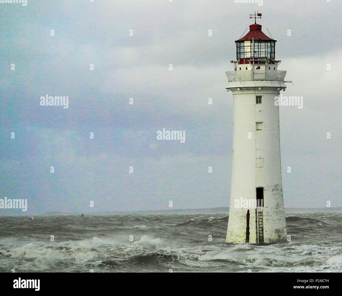Liverpool, UK. 14th June 2018. Liverpool,Uk, Storm Hector hits Merseyside credit Ian Fairbrother/Alamy Live News - Stock Image