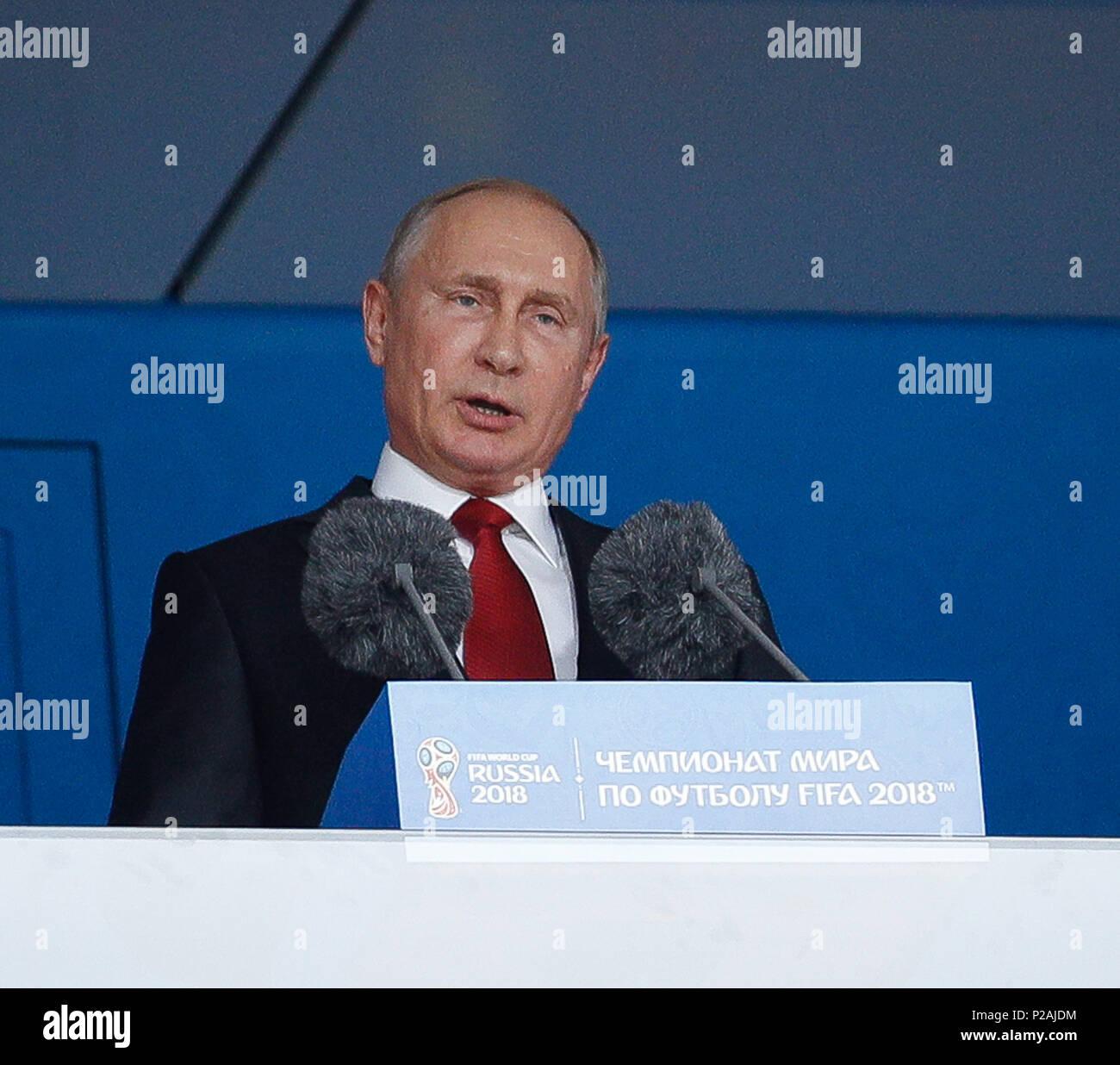 Moscow, Russia  14th June, 2018  Moscow, Russia  14th June