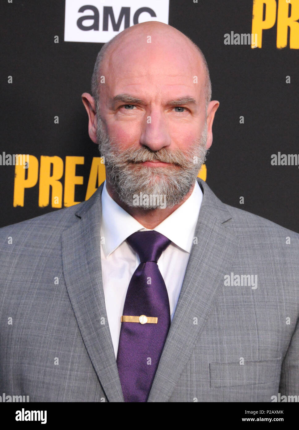 LOS ANGELES, CA - JUNE 14: Actor Graham McTavish attends AMC's 'Preacher' Season 3 Premiere Party on June 14, 2018 at The Hearth and Hound in Los Angeles, California. Photo by Barry King/Alamy Live News - Stock Image