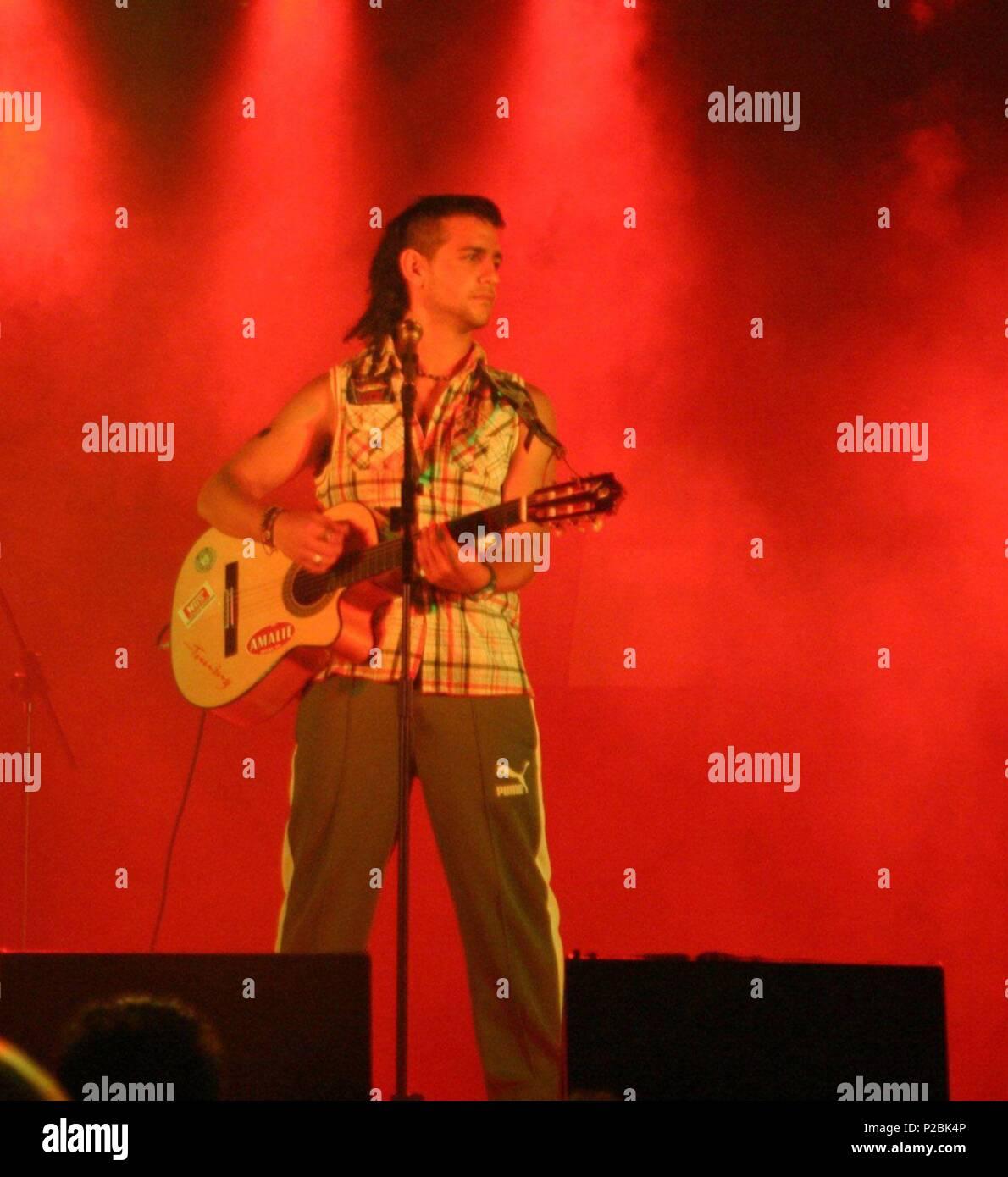 El cantante y actor español Fran Perea. (ATT59127). Stock Photo