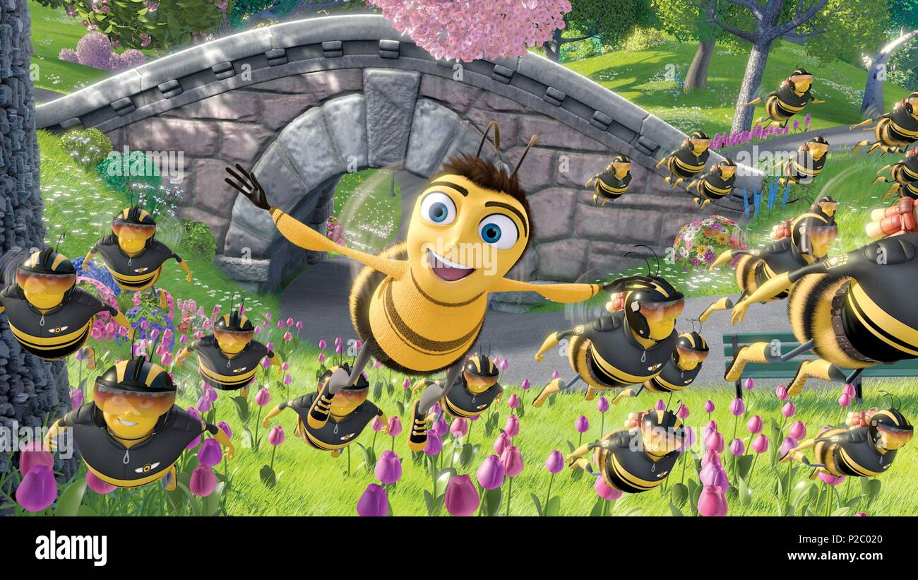 Original Film Title: BEE MOVIE.  English Title: BEE MOVIE.  Film Director: STEVE HICKNER; SIMON J. SMITH.  Year: 2007. Credit: DREAMWORKS / Album - Stock Image