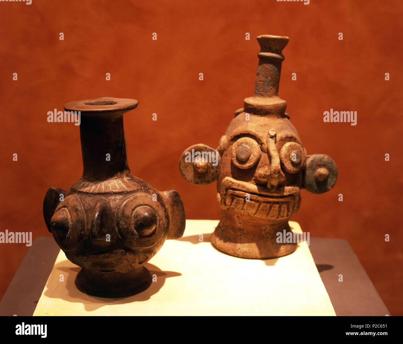 Museo Nacional De Ceramica.Mexico Mexico D F Museo Nacional De Antropologia Vasijas De