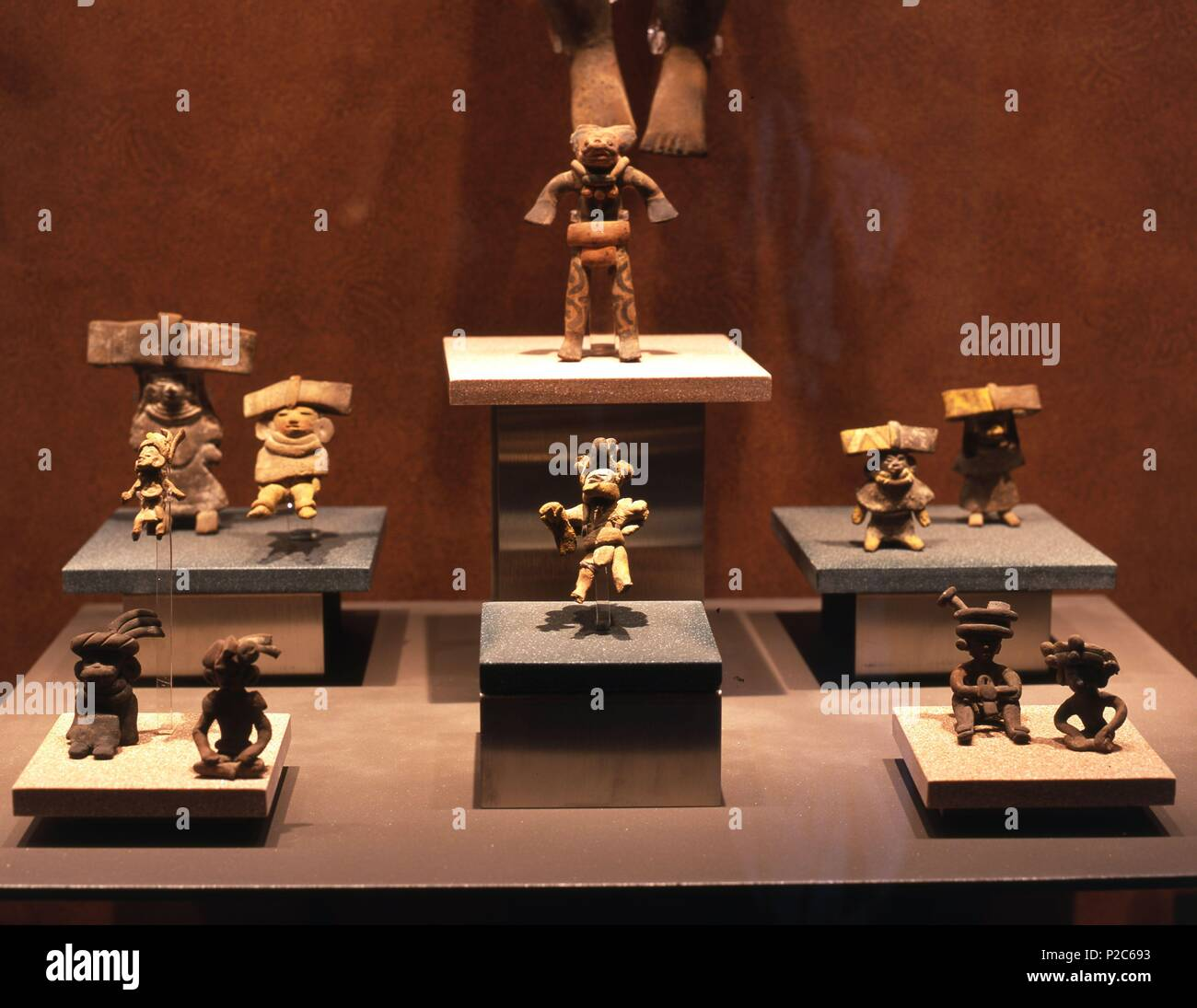 Museo Nacional De Ceramica.Mexico Mexico D F Museo Nacional De Antropologia Figurillas De