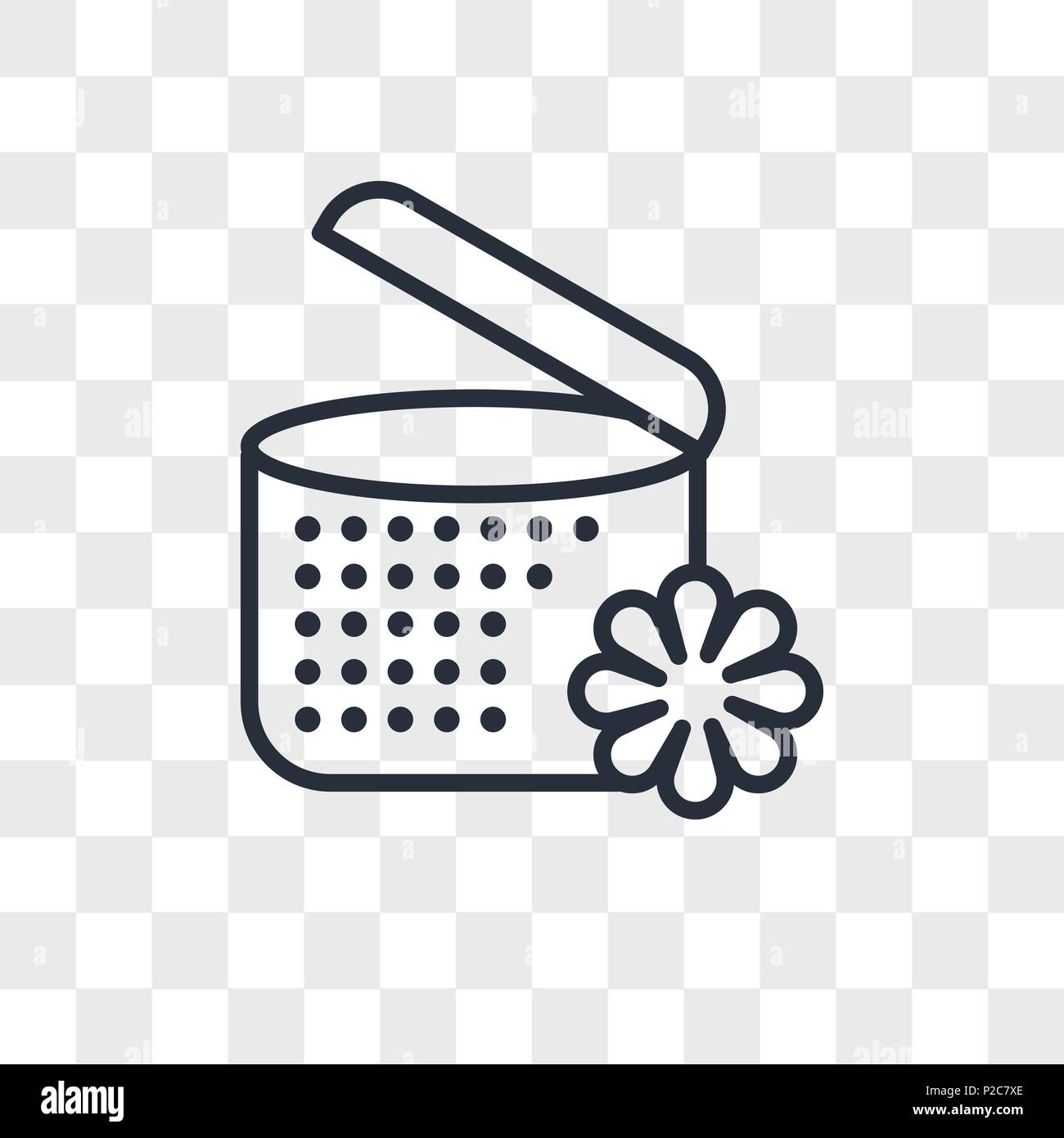 Spa Ointment With Flower Vector Icon Isolated On Transparent
