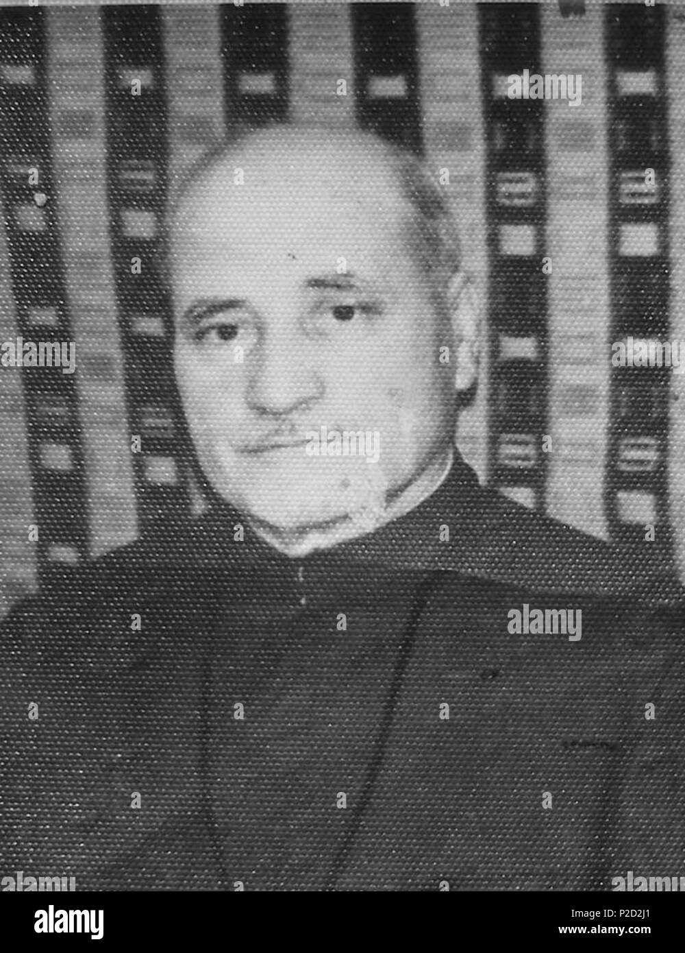 1 1968 - Preotul Grigore Bejan (fost detinut politic) Stock Photo