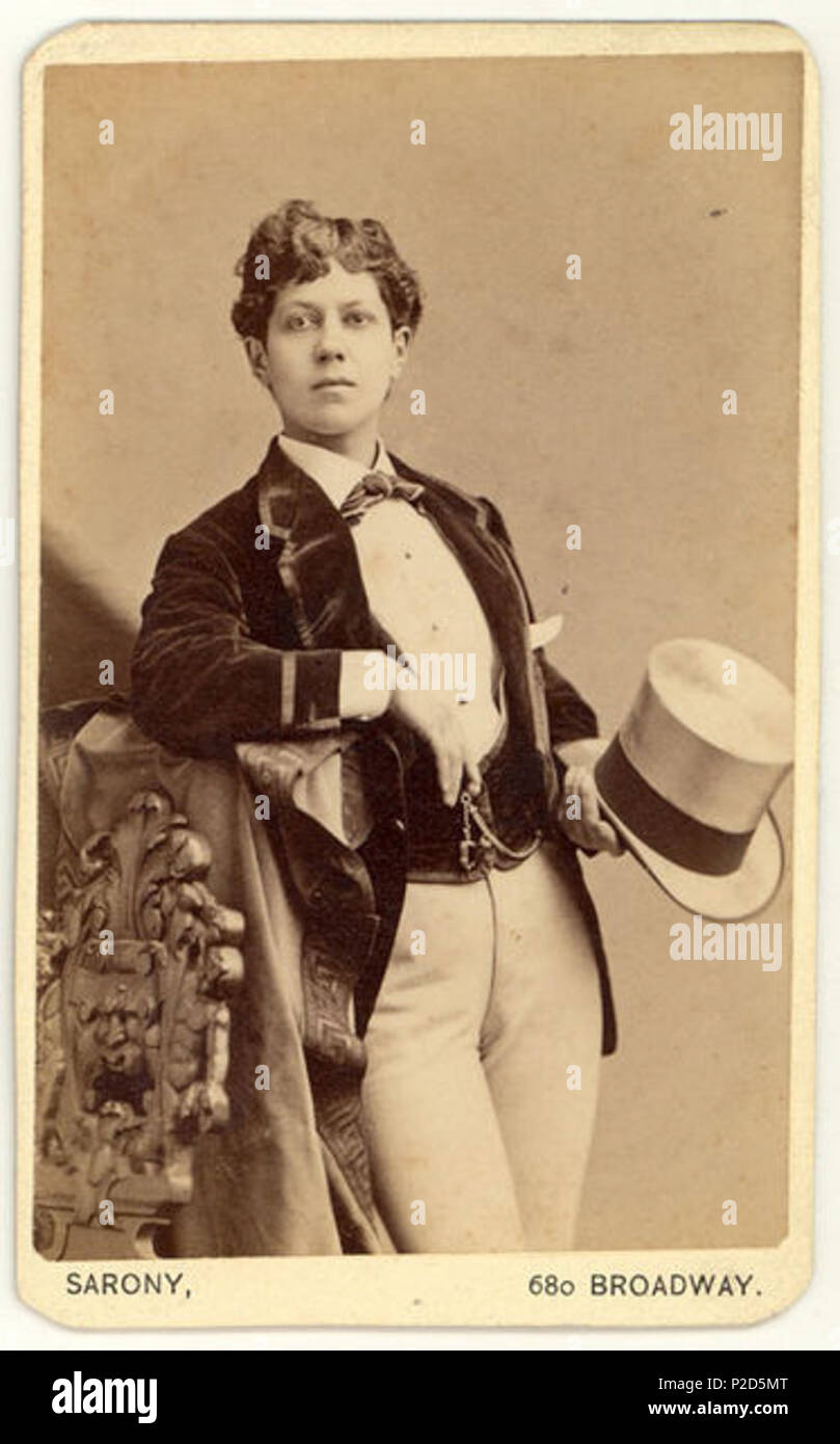 English Carte De Visite By The Studio Of The Noted American Popular