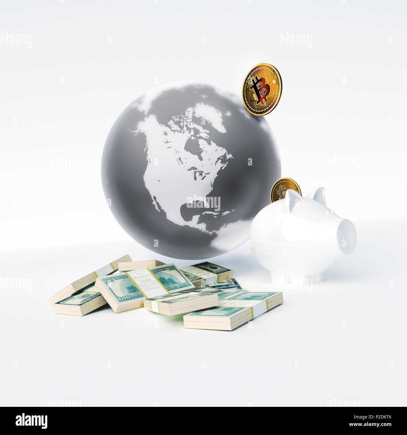Bitcoin As A Symbol World Currency Globalization Globalize
