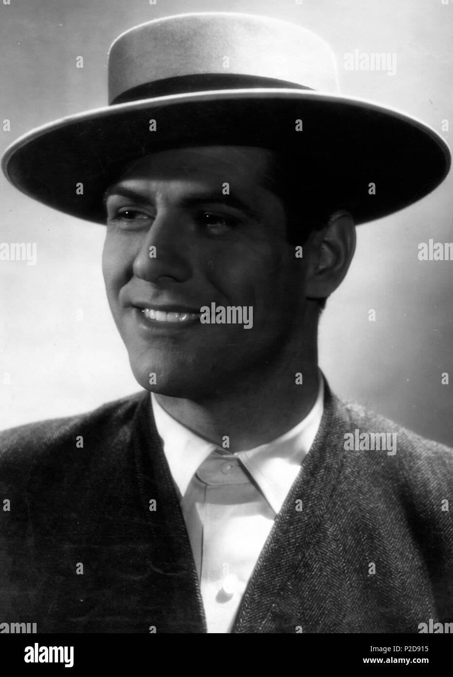Mario Cabré, torero y actor español. Stock Photo