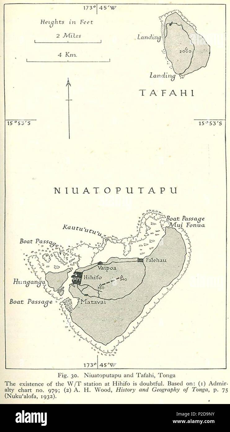 1932 1945 Stock Photos & 1932 1945 Stock Images - Alamy Kida For Map Of Tonga on