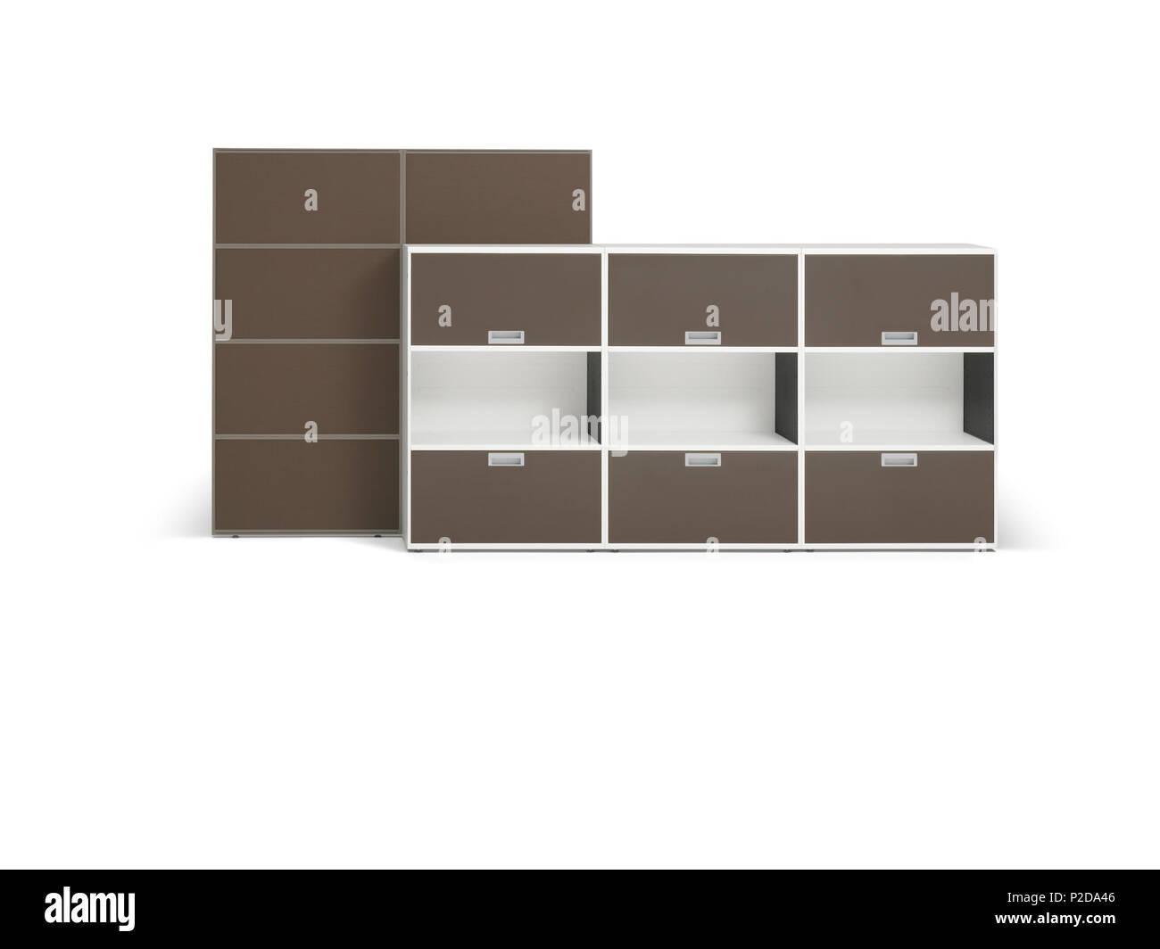 English Cabinet And Wall System Deutsch Schrank Wandsystem 10