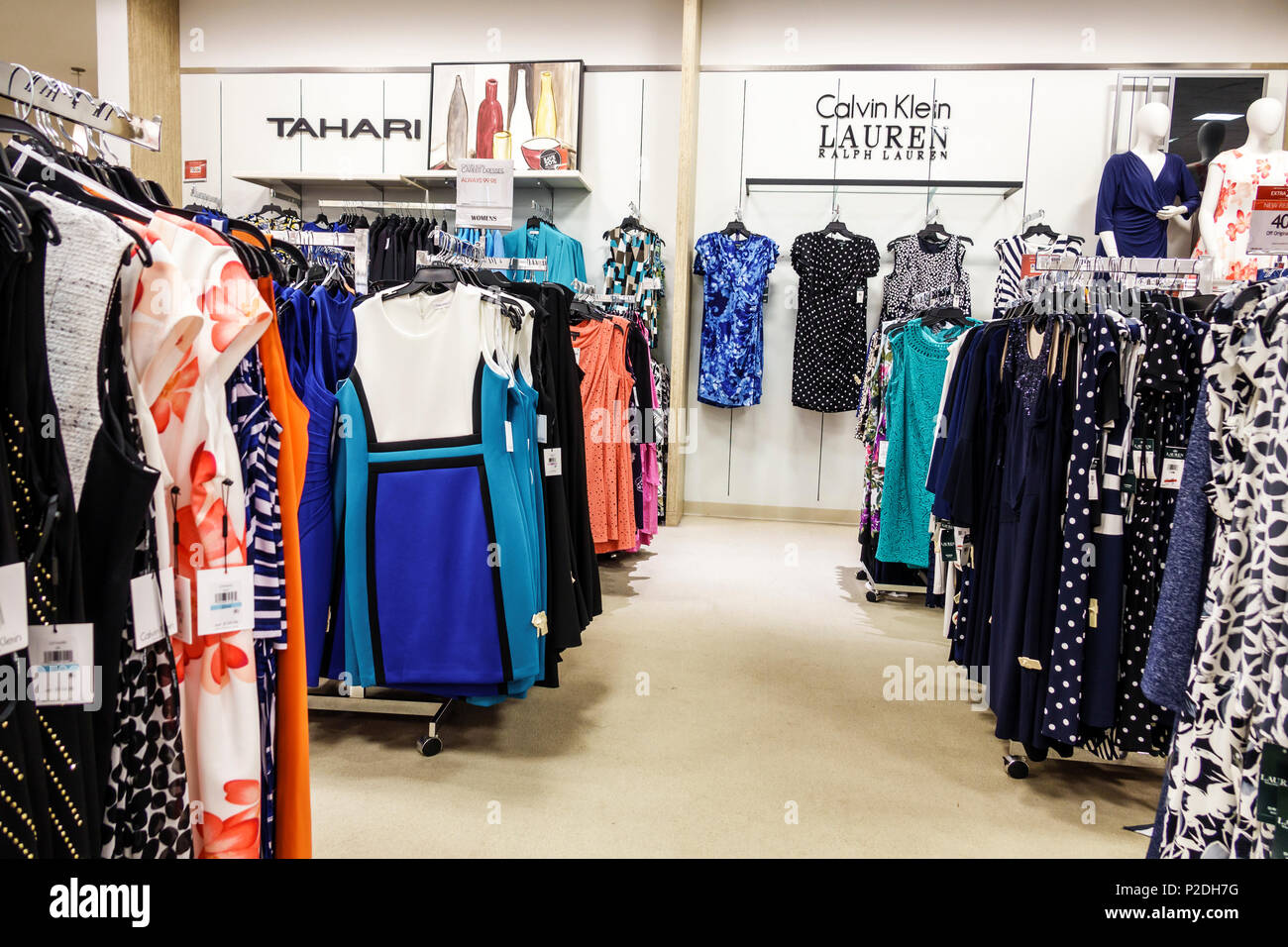 63bd844240072 Florida Jensen Beach Macy s Department Store inside shopping women s  clothing dresses Calvin Klein Lauren Tahari designer