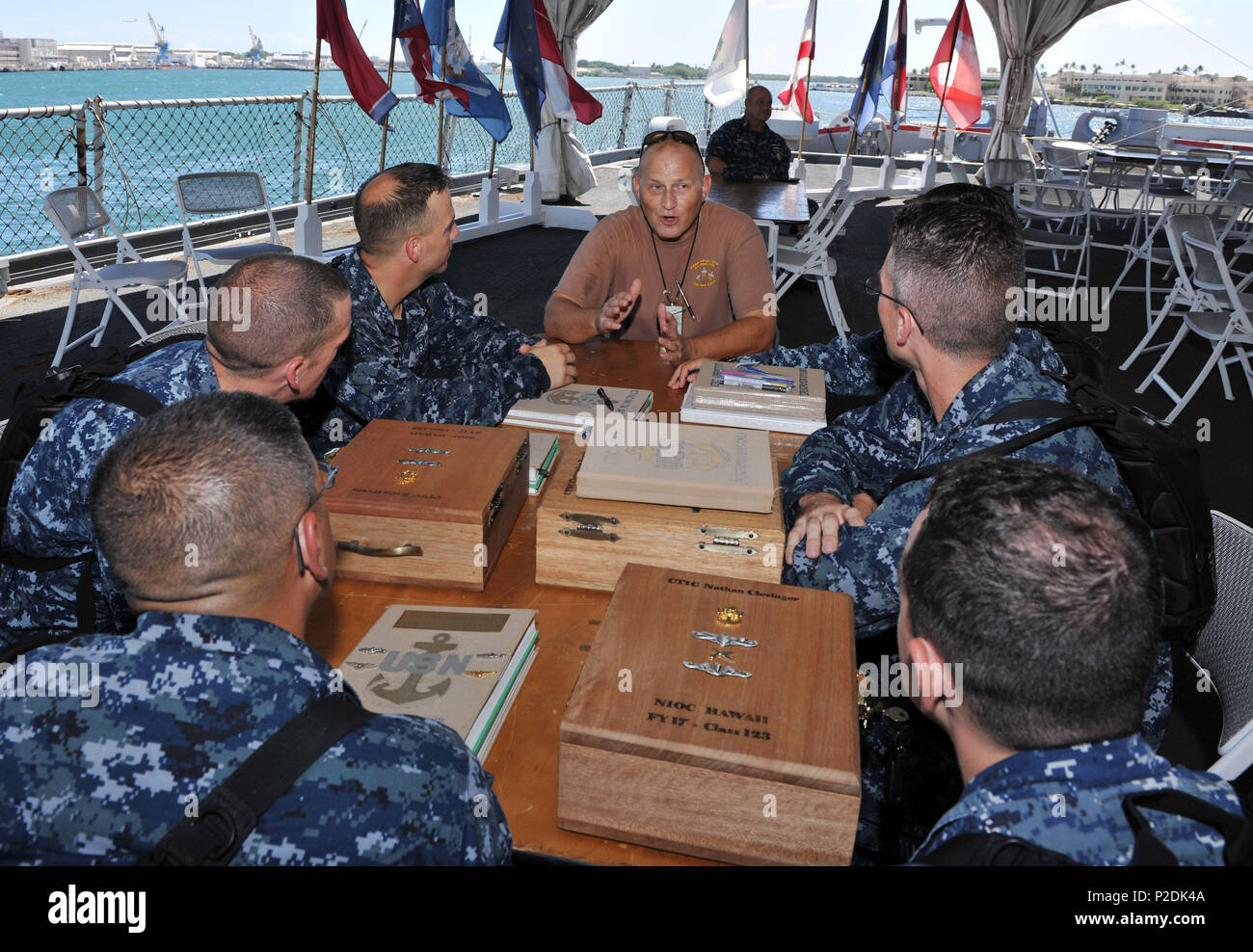 b061007152d Retired U S Navy Chief Petty Stock Photos   Retired U S Navy Chief ...