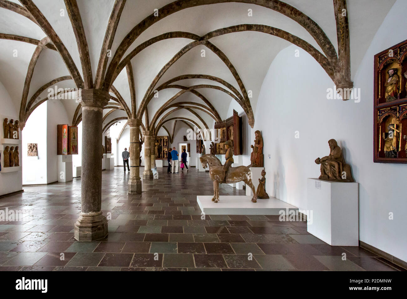 Museum in Gottorf palace, Schlei, Schleswig, Baltic Coast, Schleswig-Holstein, Germany - Stock Image