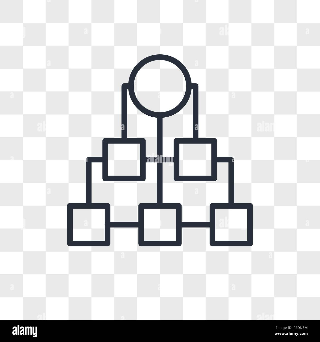 Diagram Vector Icon Isolated On Transparent Background