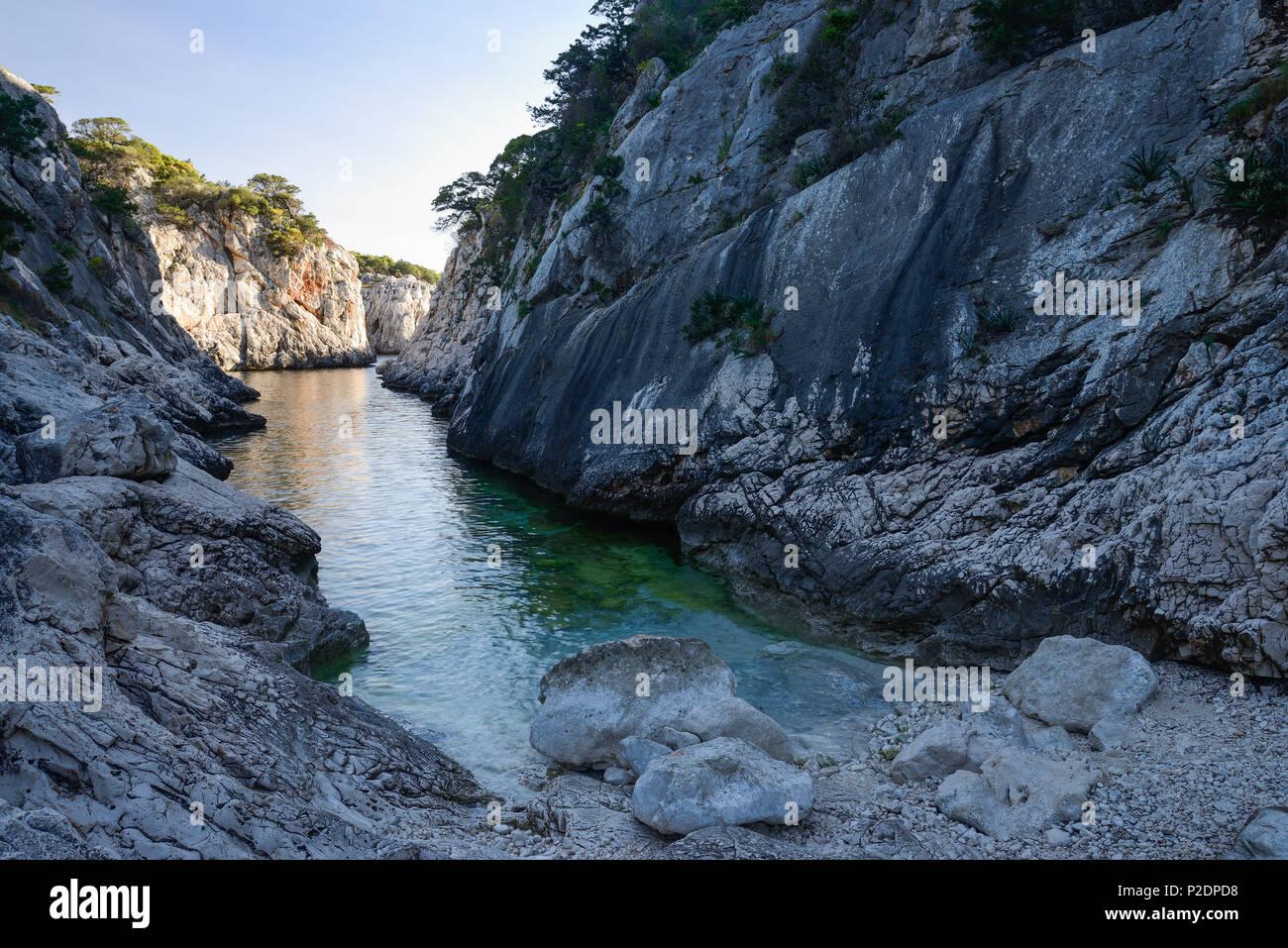 Portu Pedrosu, Porto Pedrosu, Selvaggio Blu, Sardinia, Italy, Europe - Stock Image