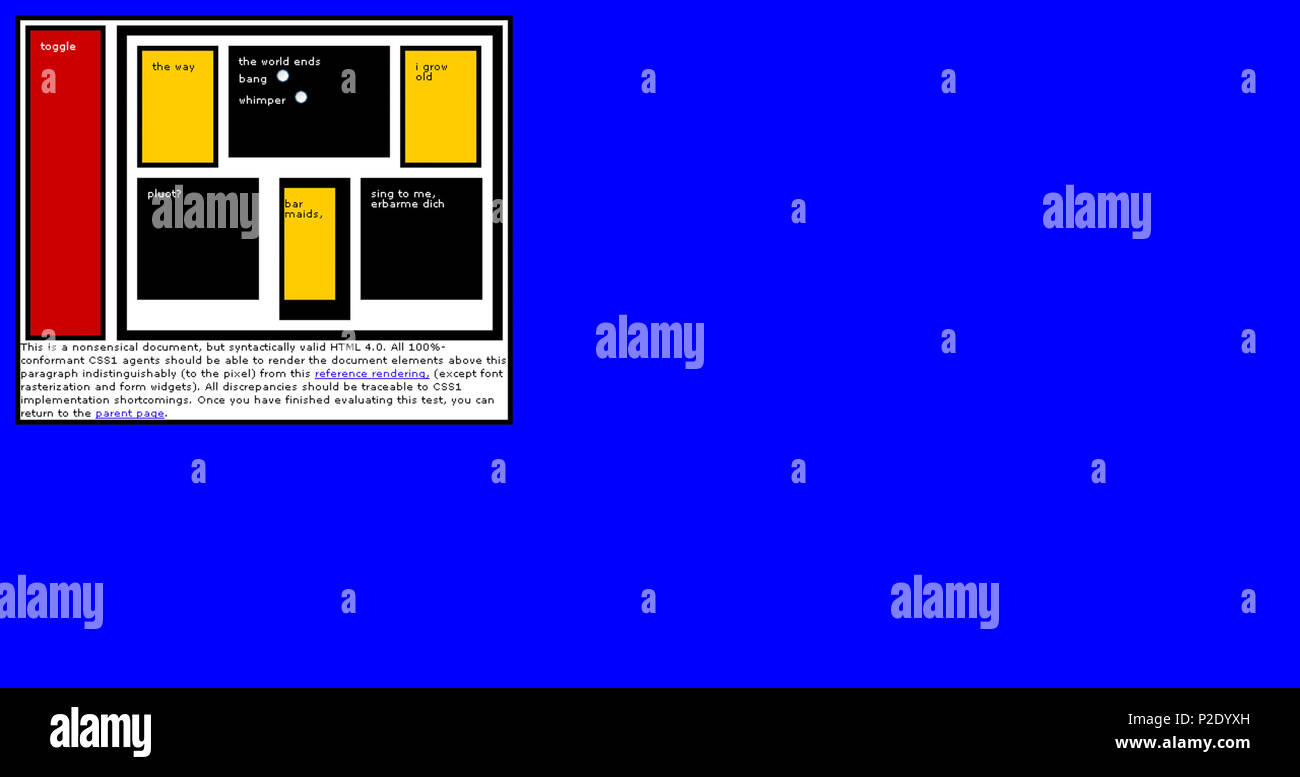 23 Google chrome beta - Acid1 Stock Photo: 208061017 - Alamy