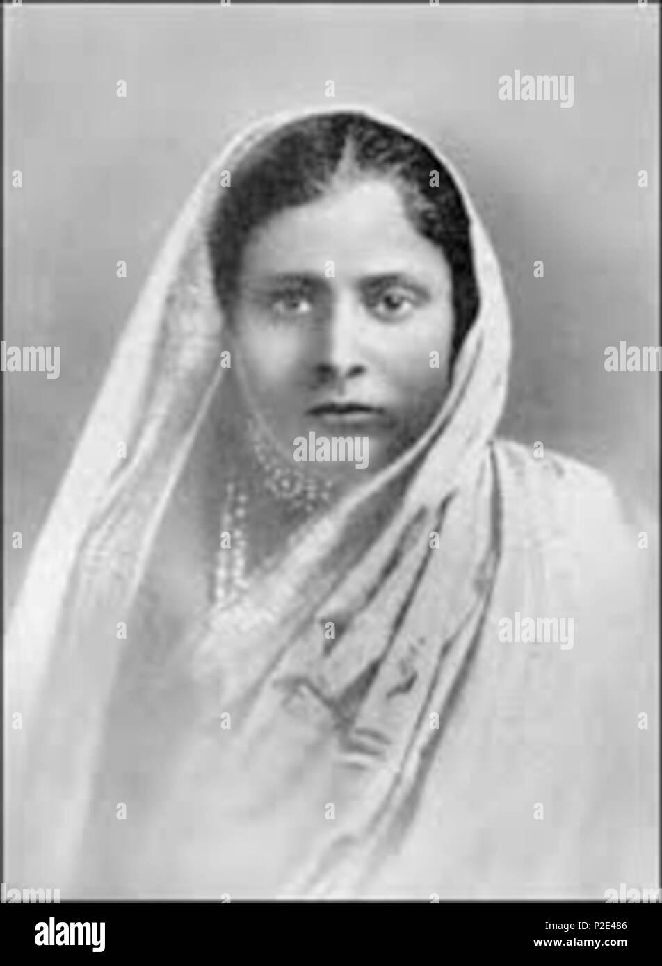 Deutsch Gyana Prabha Ghosh Guru Ghosh Mutter Von Paramahansa Yogananda Gelebt Von 1868 1904 Anhangerin Von Lahiri Mahasaya English Gyana Prabha Ghosh Guru Ghosh Mother From Paramahansa Yogananda Lived From 1868 1904 Devotee