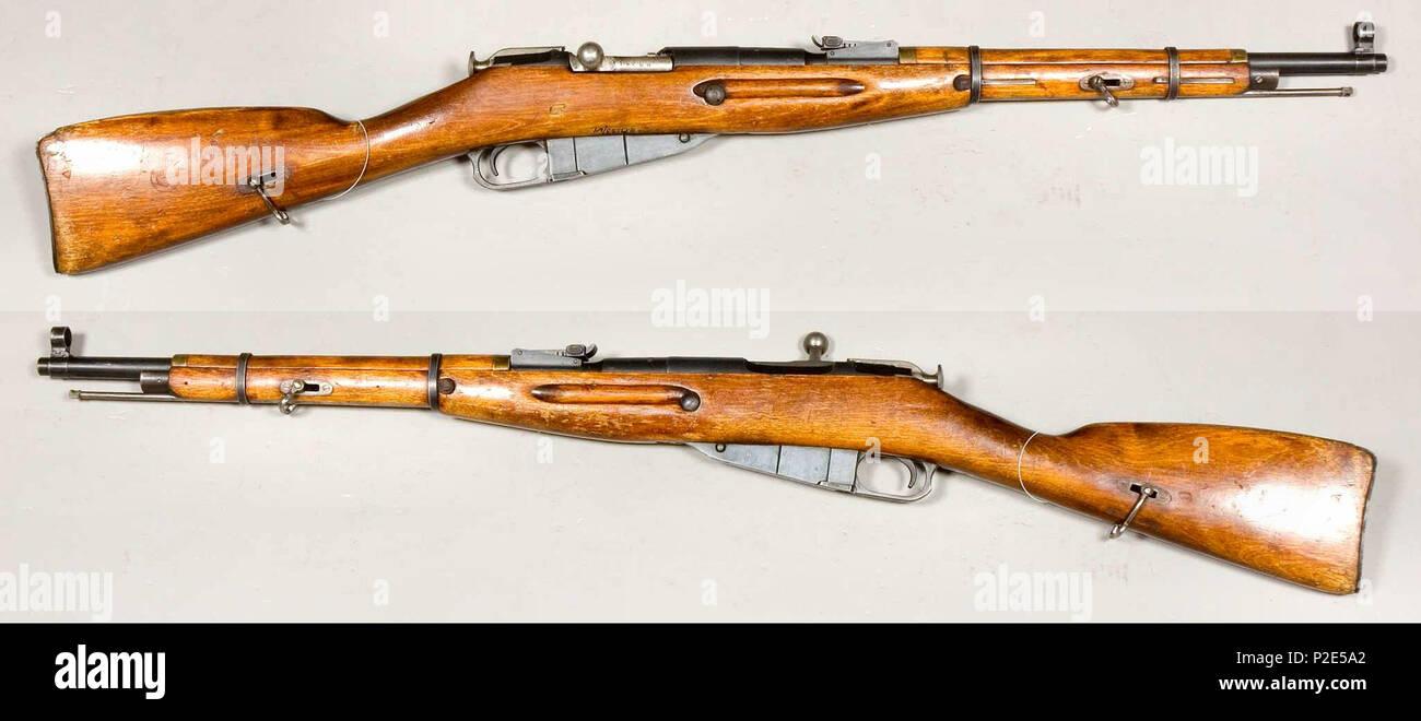 Mosin Nagant Stock Photos Images Alamy Parts Diagram 91 30 English Model 1938 Carbine Caliber 762x54mmr From The