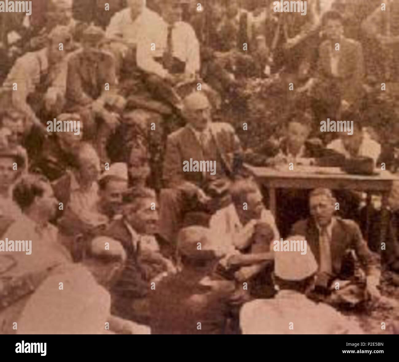 English Mukje Conference Agreement 1943 Albania 1943 Na 35