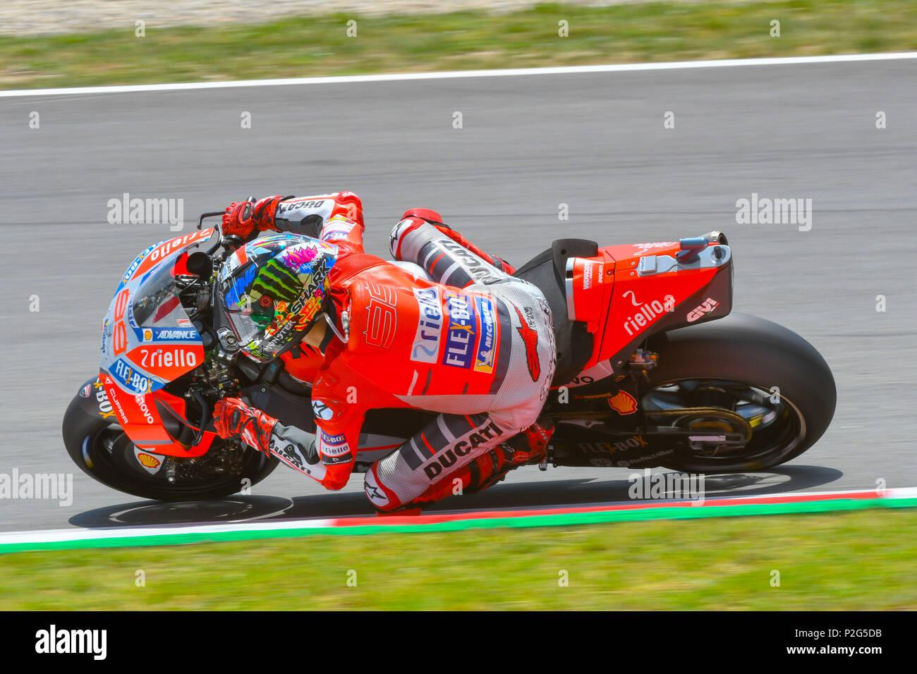 JORGE LORENZO 99 Of Spain During The Second MotoGP Free Practice Session Race Catalunya Grand Prix At Circuit De Barcelona Racetrack In