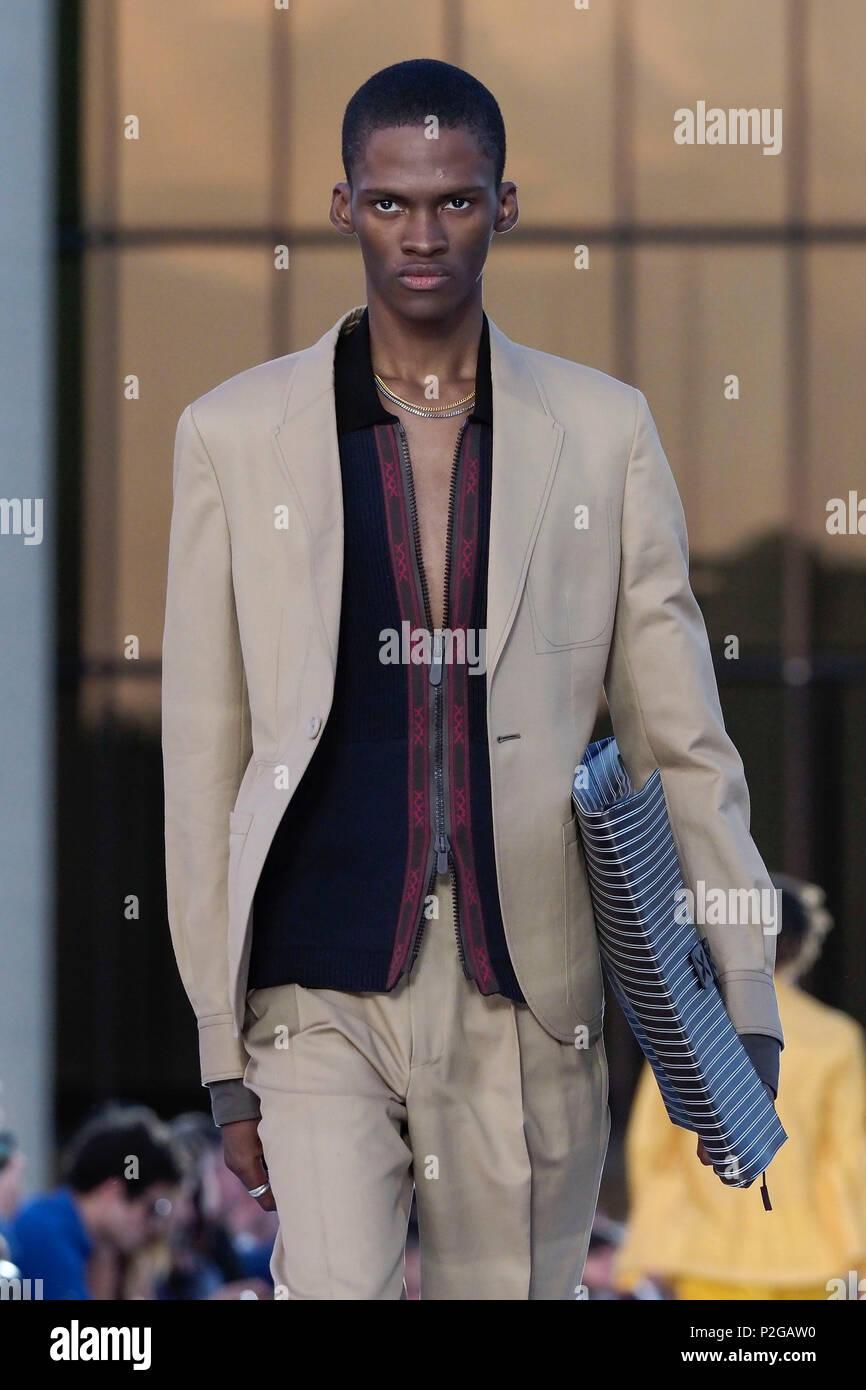 b00619cb Milan, Italy. 15th June, 2018. Milan men's fashion spring ...