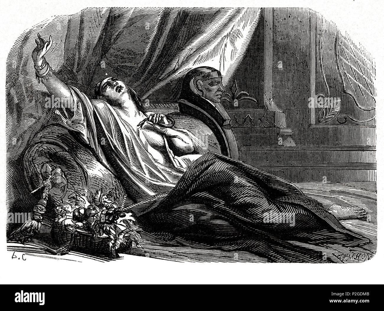 Cleopatra VII (69-30 a.JC), última Reina del antiguo Egipto y de la ...