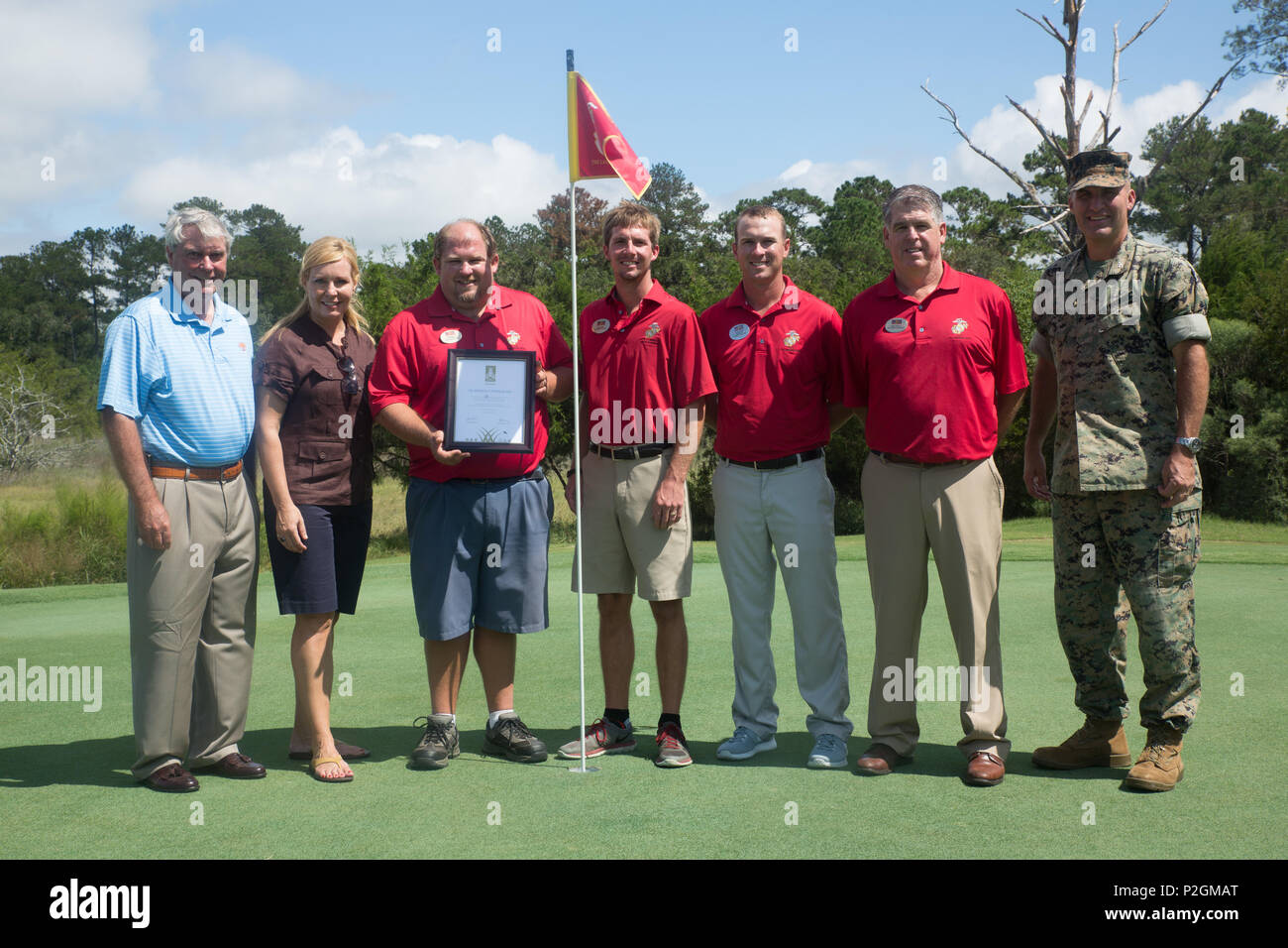 The Legends Golf Course at Parris Island earned the Golf Environment ...