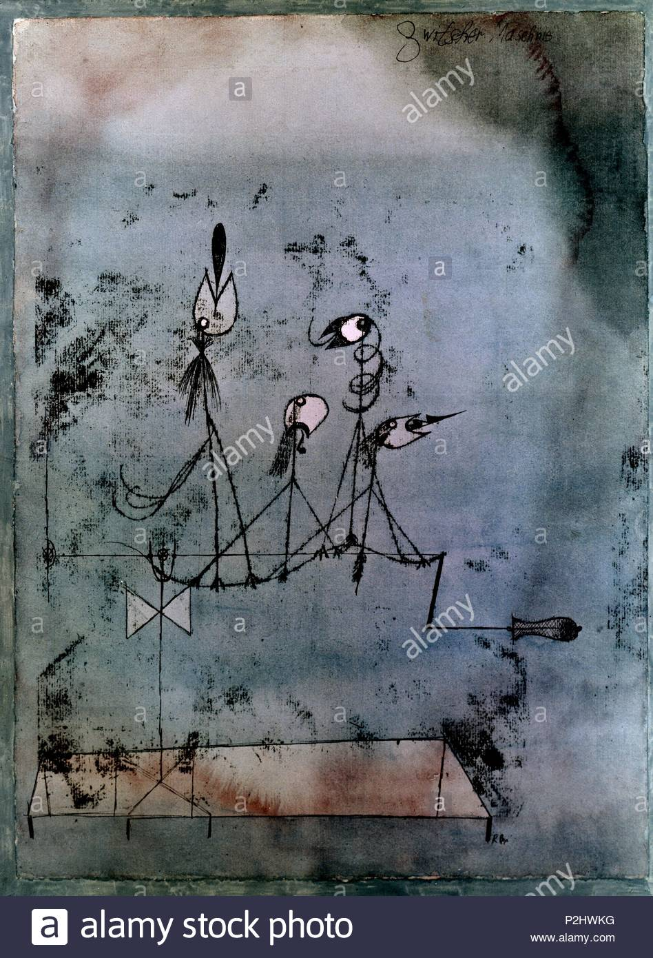 Twittering Machine >> Paul Klee Twittering Machine 1922 63 8 X 48 1 Cm Watercolor