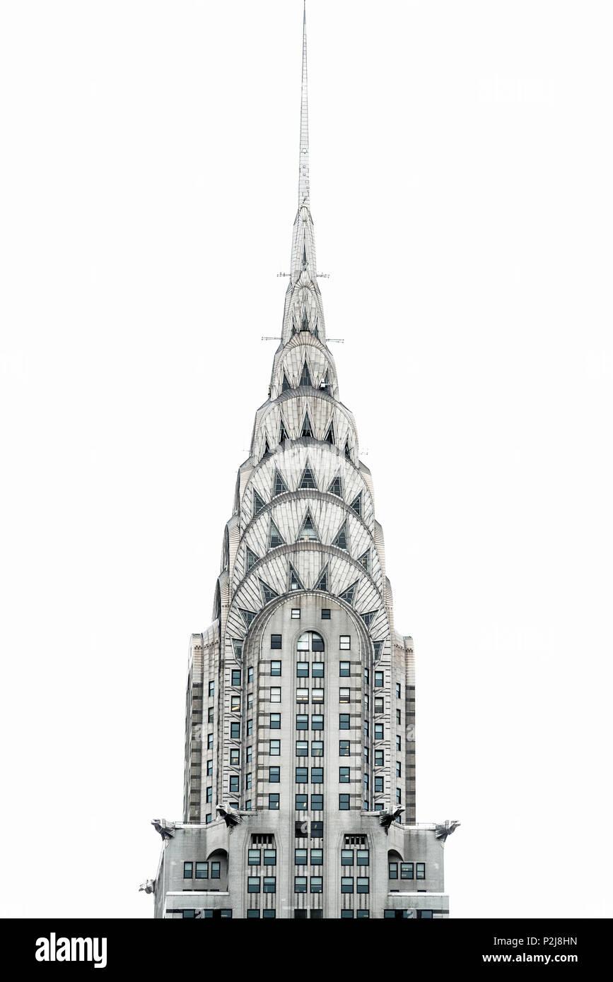 Chrysler Building, Manhattan, New York, USA - Stock Image
